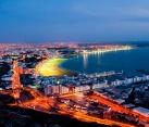 Agadir De Nuit Vue Générale